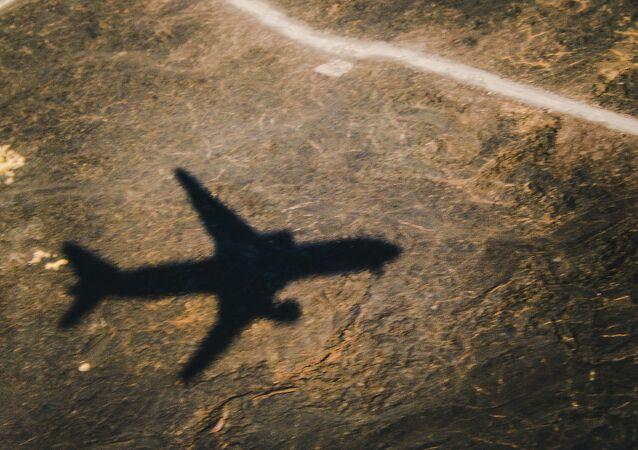Sombra de avião não identificado