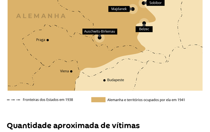 Estes foram os maiores campos da morte da Alemanha nazista