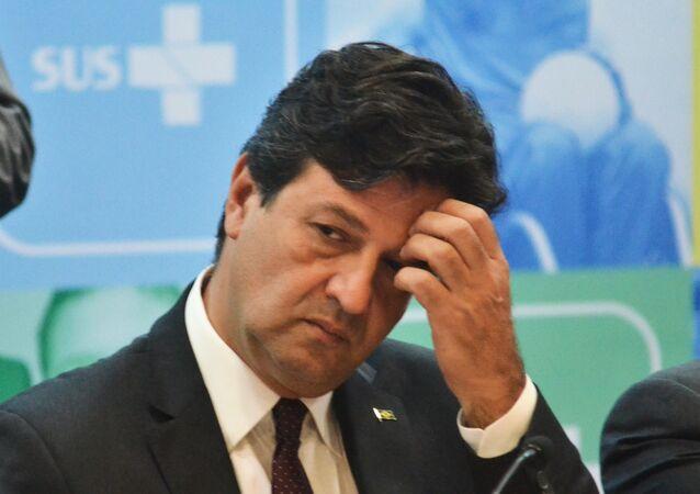 O ministro da Saúde, Luiz Henrique Mandetta, em evento em dezembro de 2019 (arquivo)