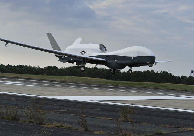 Drone de reconhecimento MQ-4C Triton