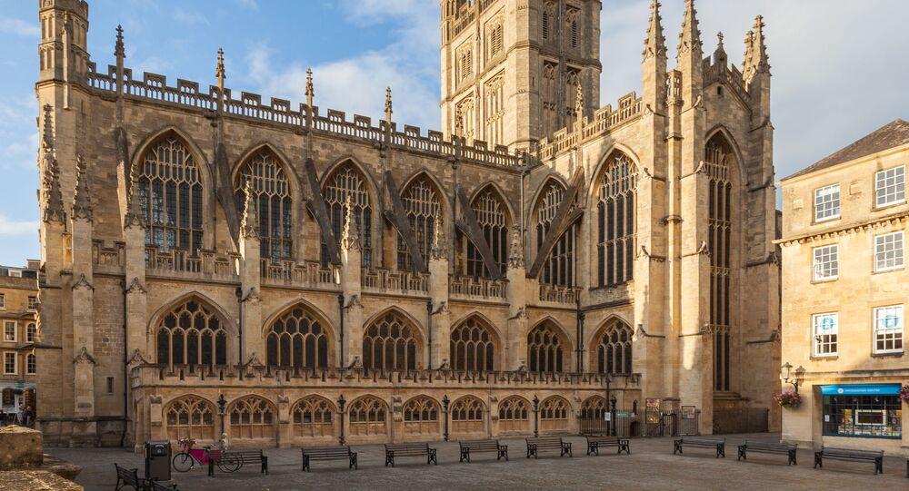 Abadia de Bath no Reino Unido