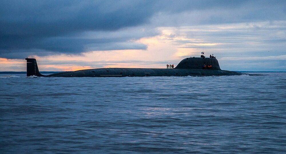 Submarino nuclear Severodvinsk da Frota do Norte da Rússia