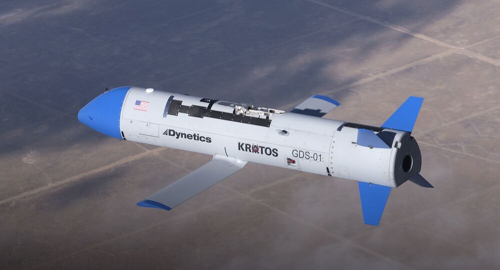Drone X-61A Gremlin (imagem referencial)