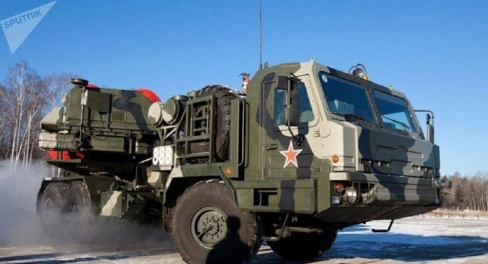 Sistema de defesa antiaérea russo de nova geração S-500 Prometei (foto de arquivo)