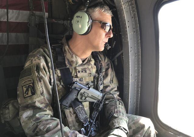 General Stephen Townsend, chefe do Comando dos EUA para a África (AFRICOM)