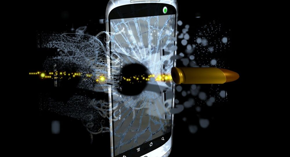 Telefone celular (representação artística)