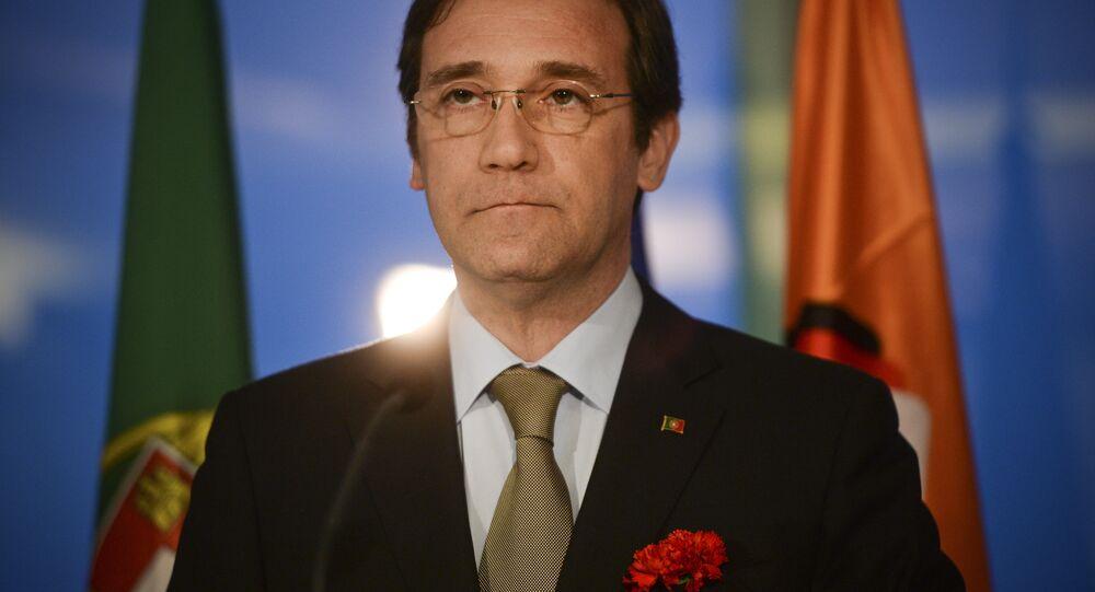 Pedro Passos Coelho, ex-primeiro-ministro de Portugal