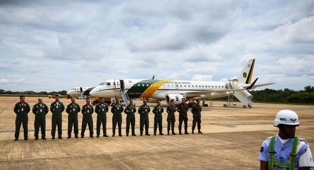 Aviões da Força Aérea Brasileira decolam de Brasília para buscar brasileiros que estão em Wuhan, na China.
