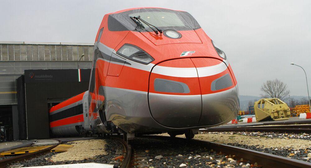 Trem Frecciarossa ETR1000