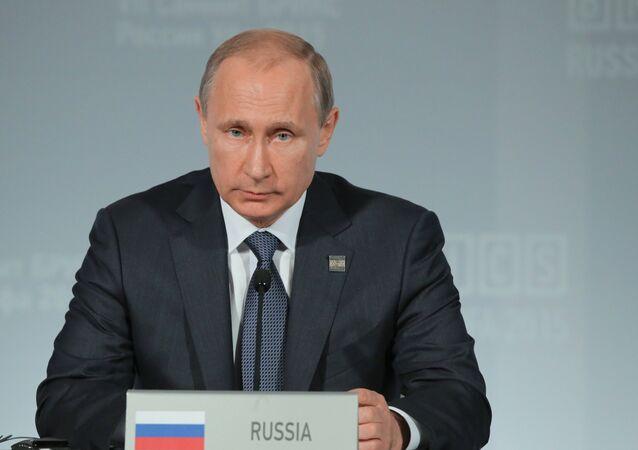 Presidente da Federação da Rússia Vladimir Putin