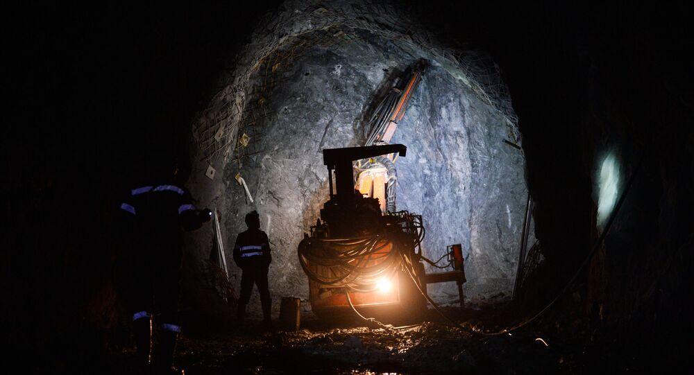 Mina de cobre (imagem referencial)