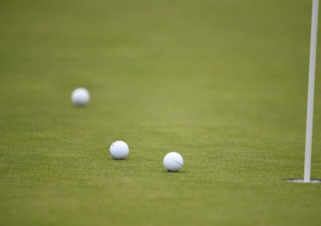 Bolas de golfe em San Diego, Estados Unidos (imagem referencial)