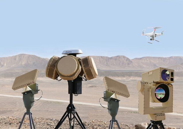 Sistema antiaéreo israelense Cúpula de Drone