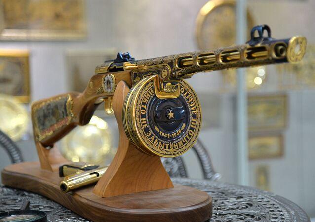 Pistola-metralhadora Shpaguin PPSh-41