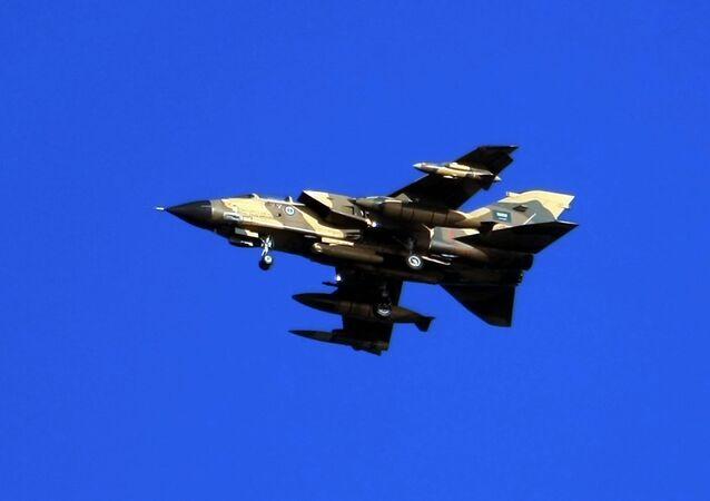 Caça Tornado da Força Aérea da Arábia Saudita (foto de arquivo)