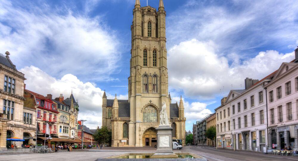 Catedral de São Bavão, Gante, Bélgica