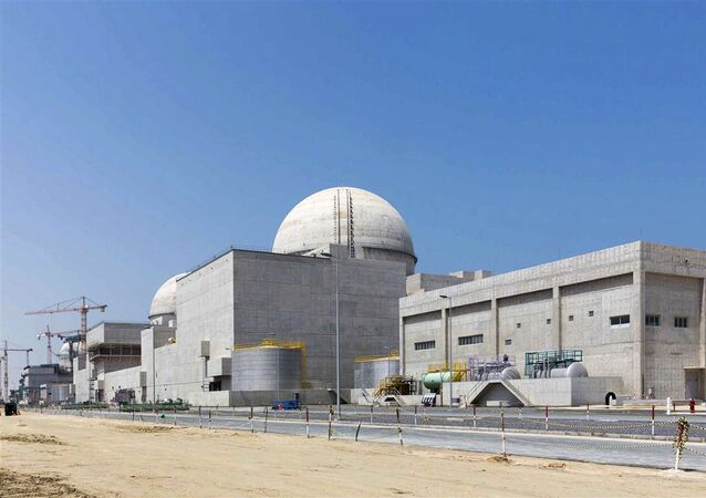 Reator de Barakah, nos Emirados Árabes Unidos (EAU)