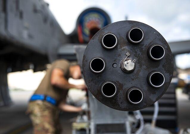 Metralhadora GAU-8  de 30 mm
