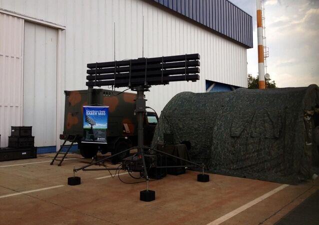 Radar Saber M60 da Bradar, subsidiária da Embraer.