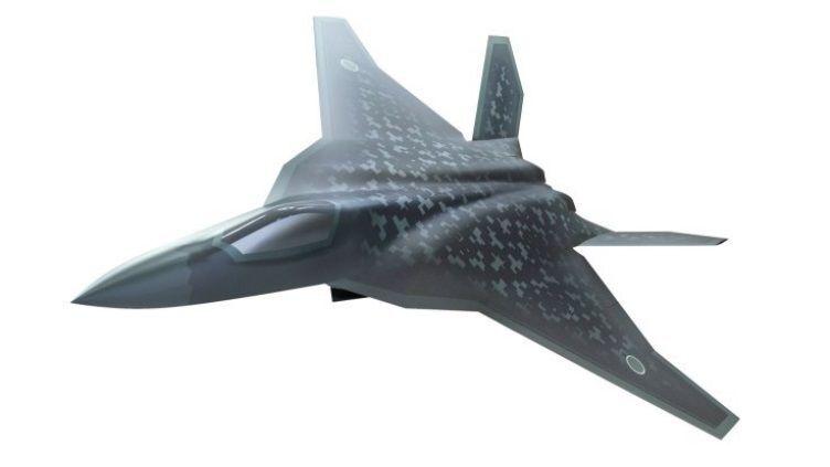 Design conceitual do futuro caça F-X da Força Aérea de Autodefesa do Japão