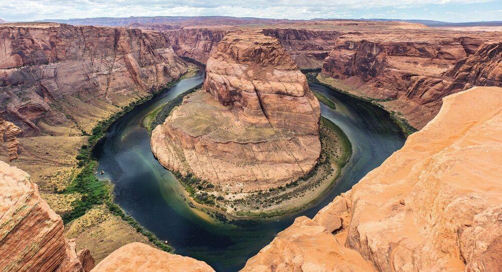 Curvatura em ferradura, rio Colorado