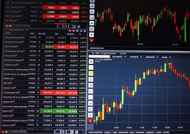 Gráficos de bolsa de valores (imagem referencial)
