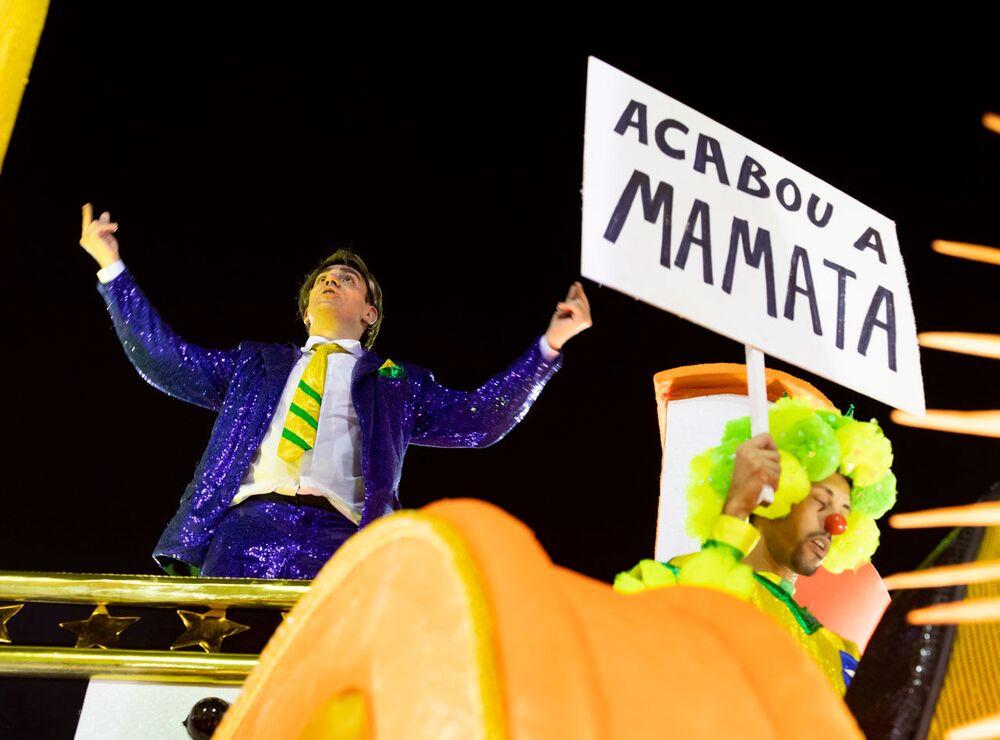 São Clemente ironizou o presidente do Brasil, Jair Bolsonaro