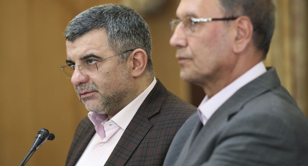 Vice-ministro da Saúde do Irã Iraj Harirchi