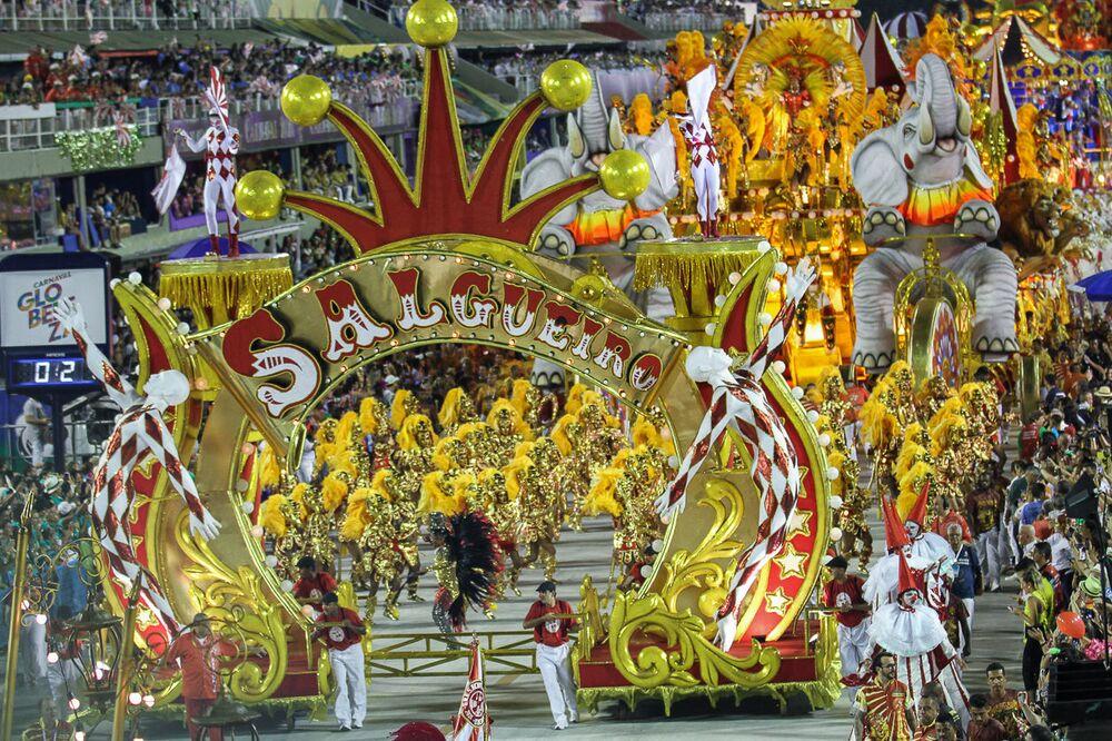 Desfile do Salgueiro na Sapucaí