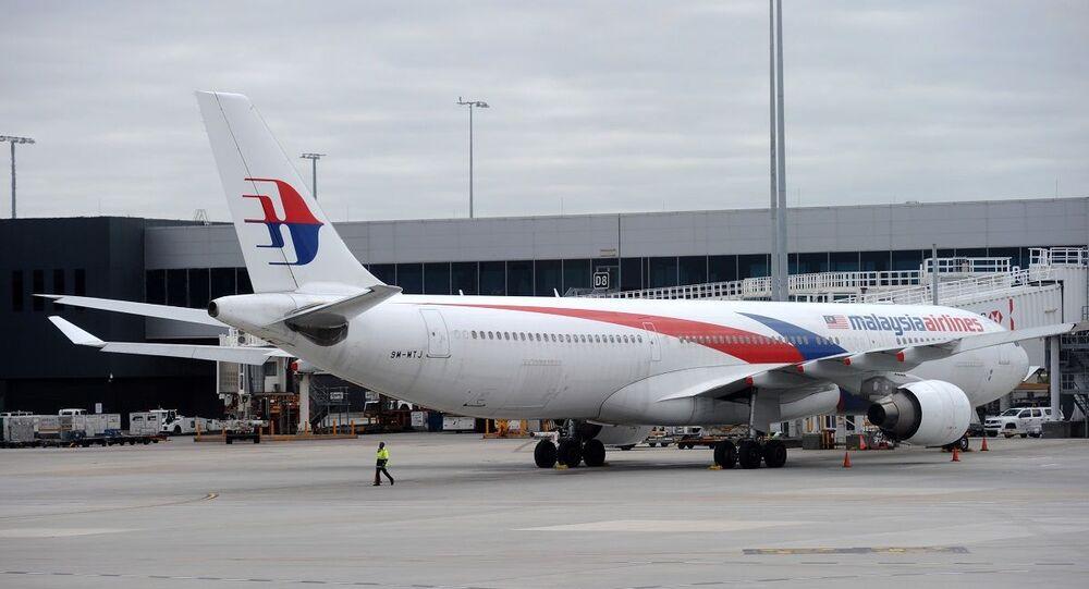 Uma aeronave da Malaysia Airlines (foto de arquivo)