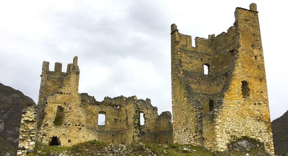 Castelo em ruínas (imagem referencial)