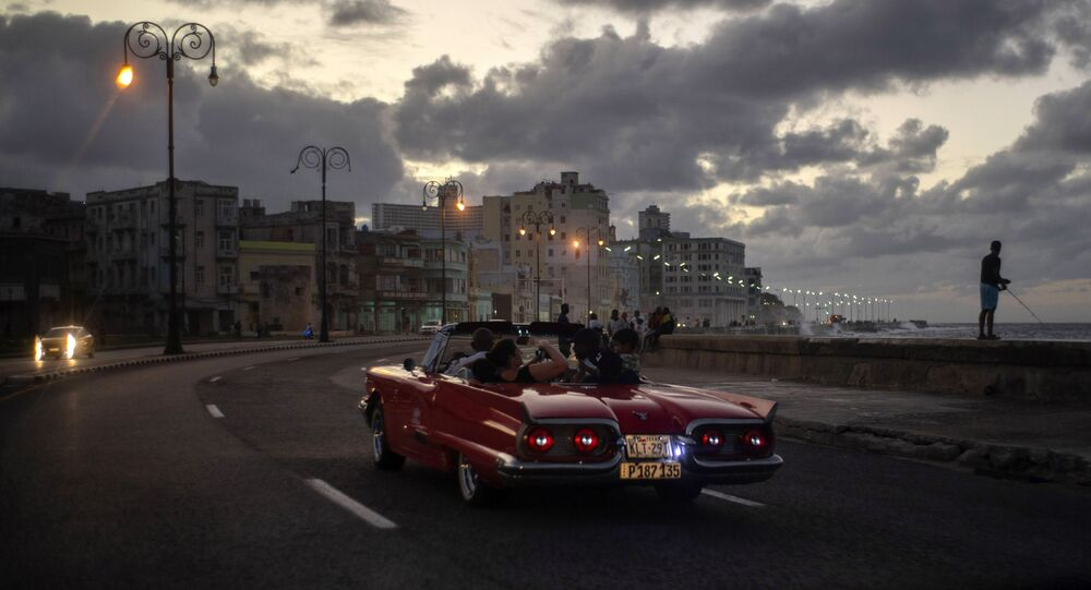 El Malecón, em Havana, Cuba