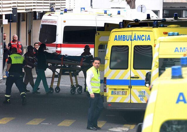 Ambulâncias em Portugal (imagem referencial)