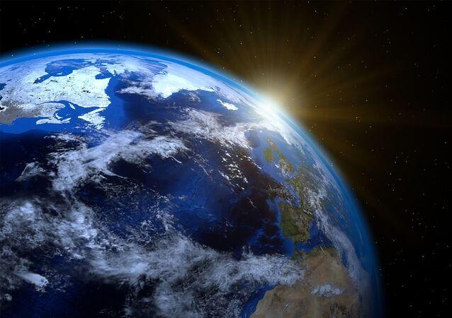 Planeta Terra (foto de arquivo)