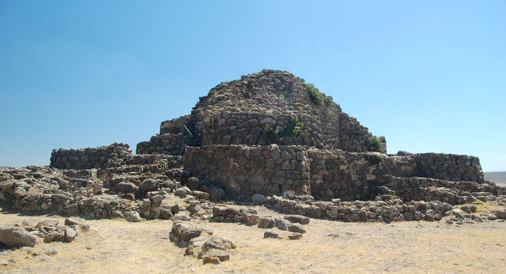 Complexo pré-histórico de Nuraghe Losa, na Sardenha
