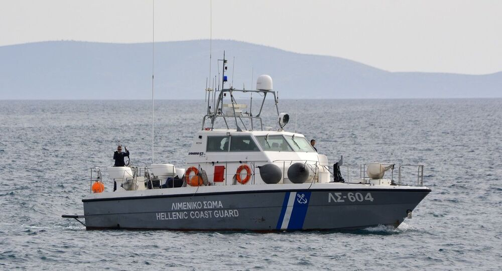 Barco da Guarda Costeira da Grécia (imagem referencial)