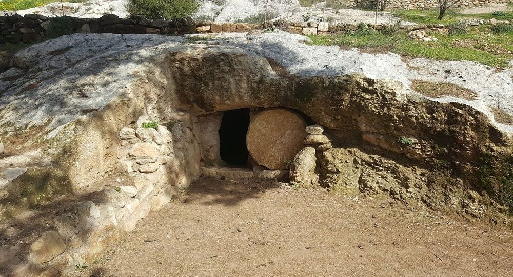 Um túmulo antigo (imagem referencial)
