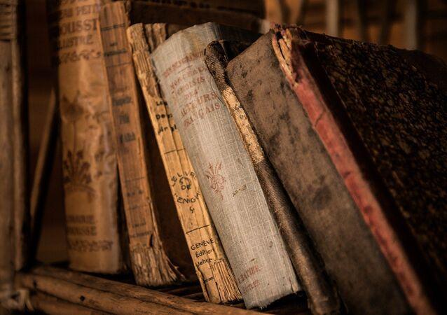 Livros antigos (imagen ilustrativa)