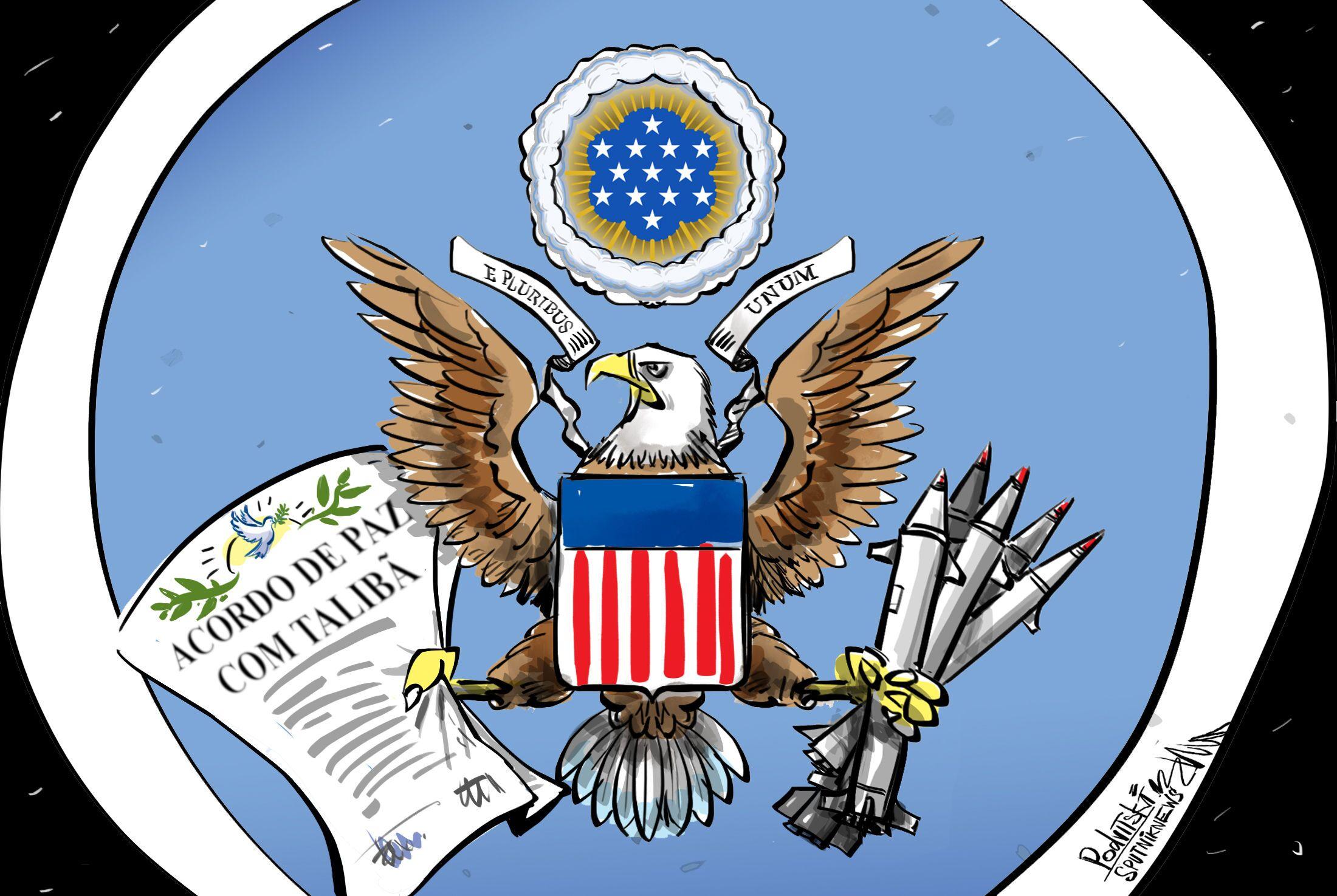 Acordo de paz na visão dos EUA
