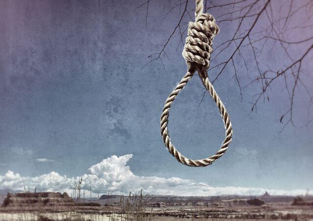 Forca, representando a eliminação de indivíduos pelo Estado (foto referencial)