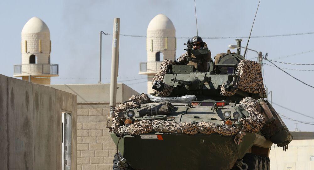 Soldados do Exército dos EUA durante exercício militar conjunto israelo-americano Juniper Cobra, no sul de Israel (imagem de arquivo)
