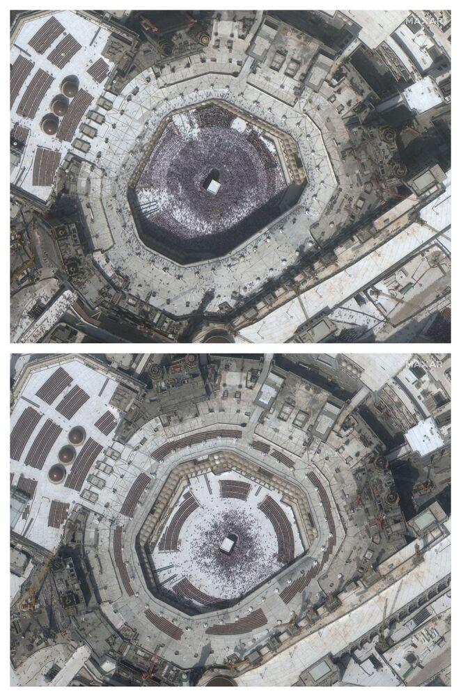 Cidade de Meca, na Arábia Saudita, é o local mais sagrado de peregrinação para mulçumanos do mundo inteiro, esvazia-se por medo do coronavírus