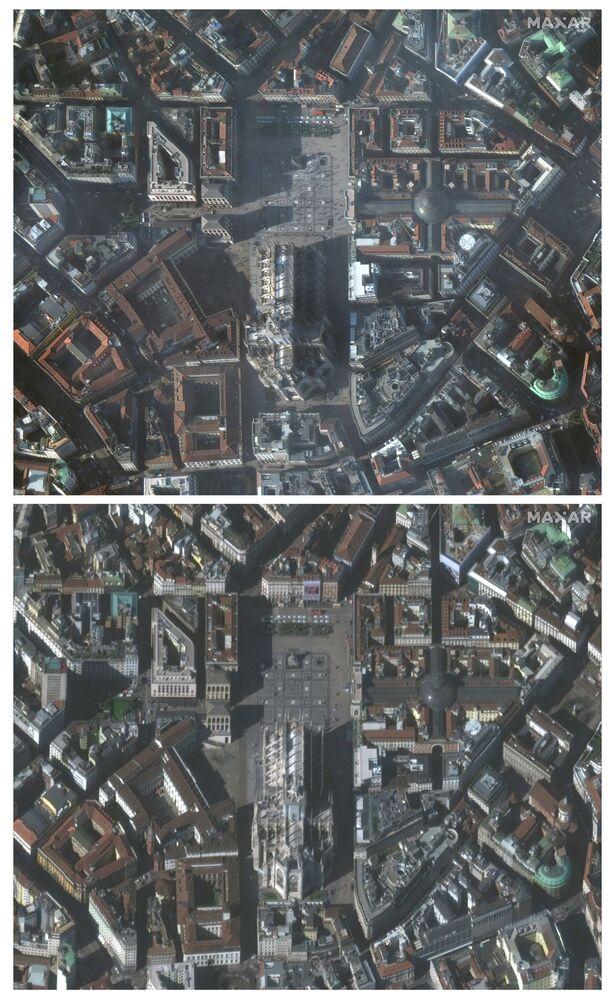 Cidade de Milão é o centro turístico italiano mais afetado pela diminuição de turistas devido ao surto de coronavírus