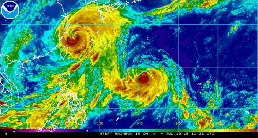 Super-tufão Chan-hom se aproxima da China