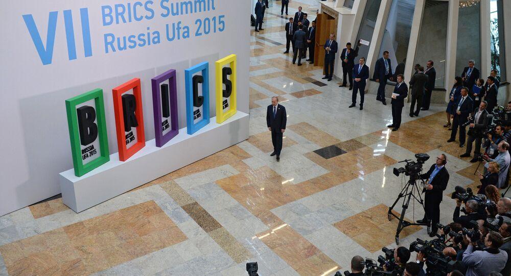 Sétima cúpula do BRICS, em Ufá, na Rússia