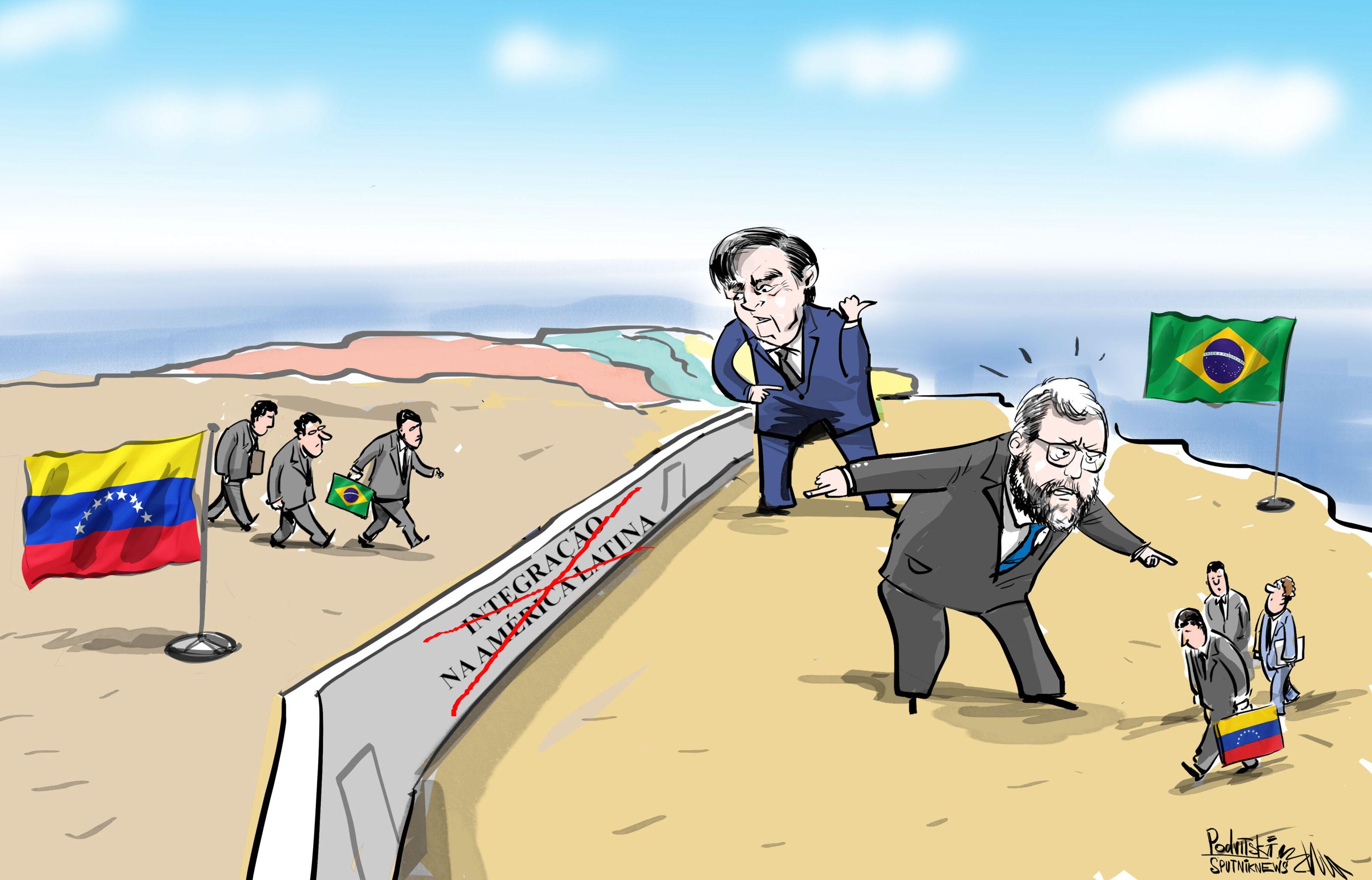 Barreiras que diplomacia brasileira cria