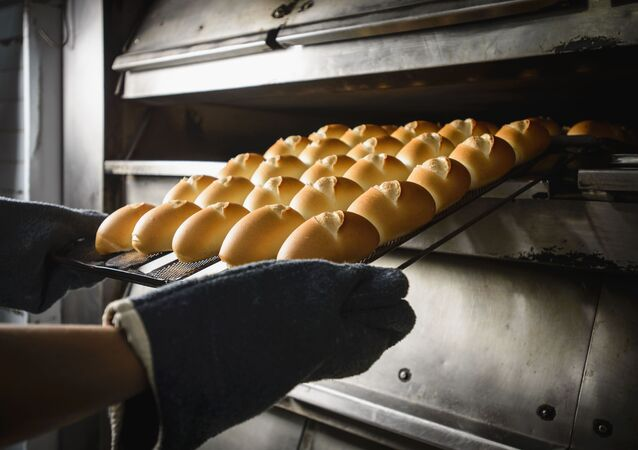 O trigo é ingrediente fundamental para a produção do pão