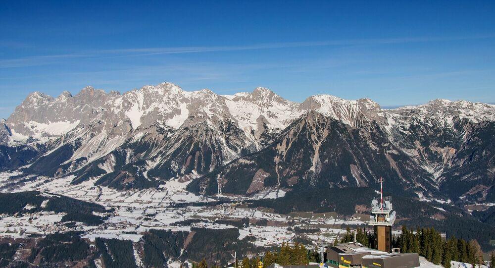 Montanhas de Dachstein, Áustria (imagem referencial)
