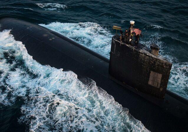 Submarino USS Toledo da Marinha dos EUA