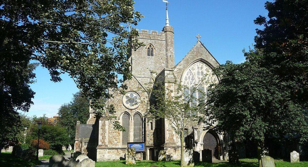 Igreja de St Mary e St Eanswythe em Folkstone, Reino Unido